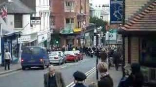 Great Malvern Remembrance Sunday Parade 12th November 2006