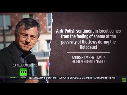 Jews were 'passive' during Holocaust, so Israel is ashamed – Polish president's aide