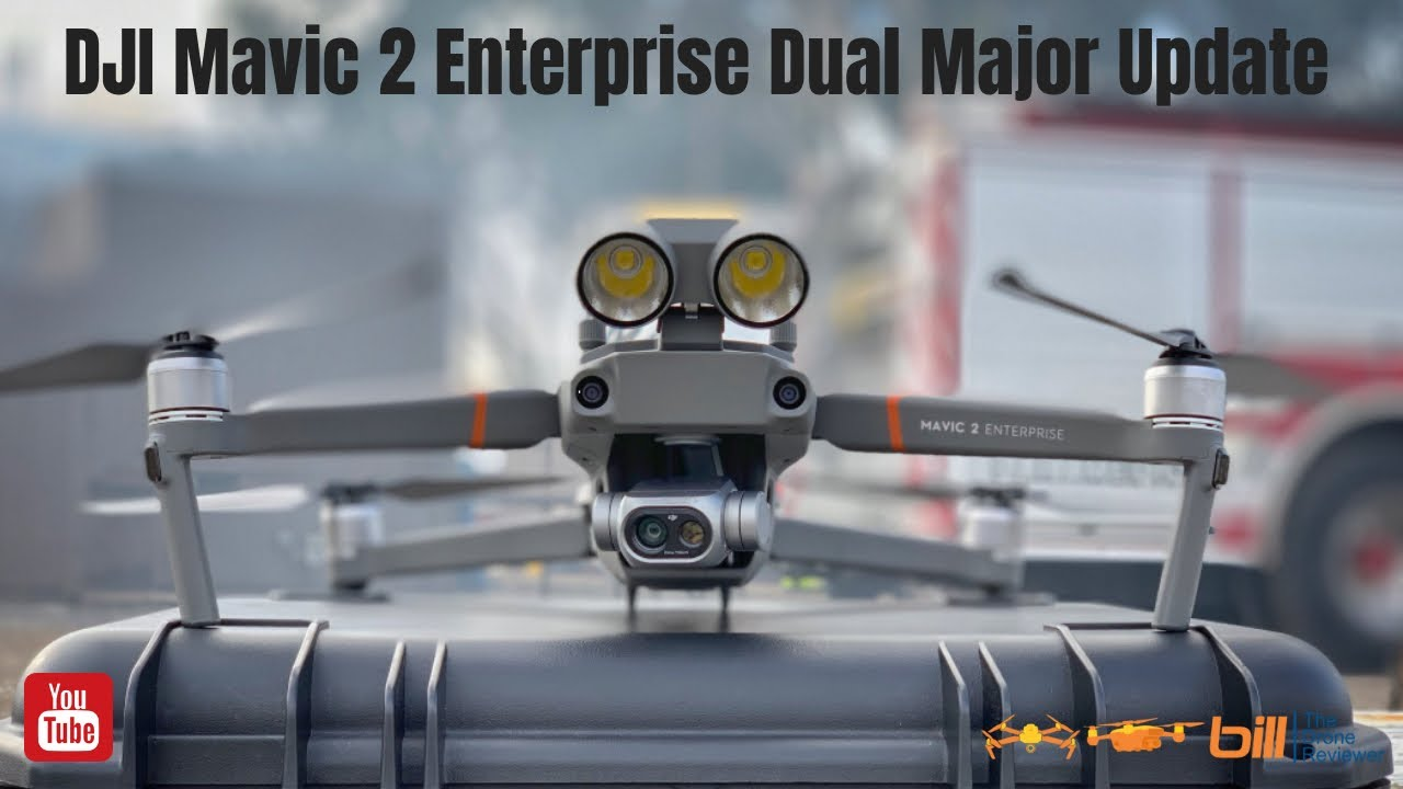 6fba0066658 DJI Mavic 2 Enterprise Dual Major Update - YouTube