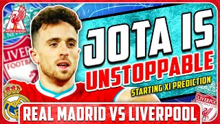 LIVERPOOL TO WIN AWAY! Real Madrid vs Liverpool Starting XI Prediction