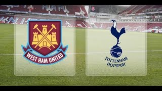 Tottenham vs Westham 10252017 Full Match part 2