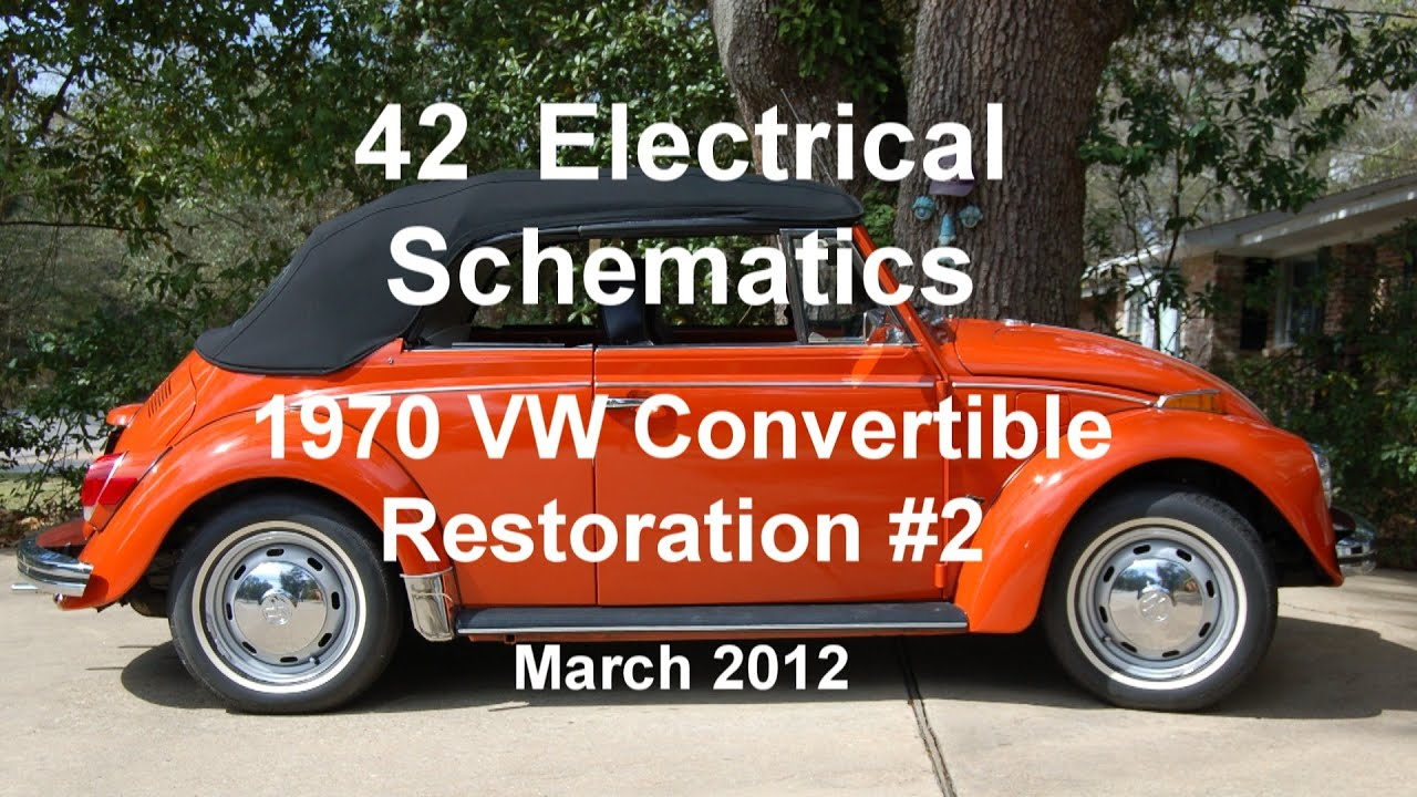 42 of 44 1970 vw beetle electrical schematics wmv