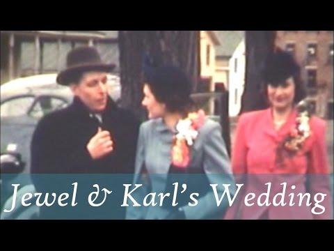 M05 .1942 04 18 Jewel Laufer's Wedding