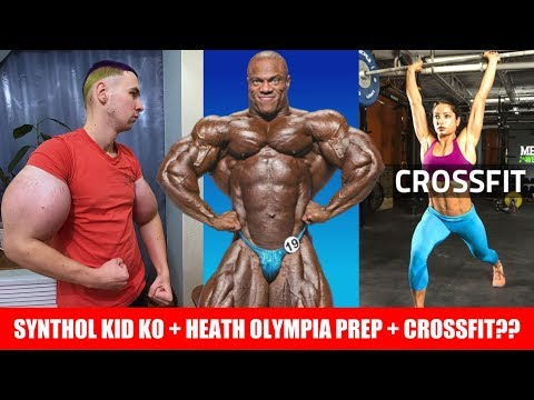 Synthol Kid Knocked Out! + Phil Heath Prep for 19' Olympia? +