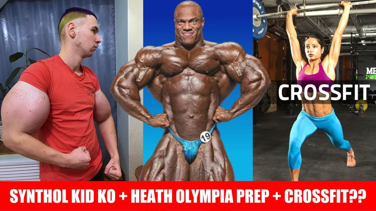 Synthol Kid Knocked Out! + Phil Heath Prep for 19' Olympia? + Crossfit  Deletes all Social Media