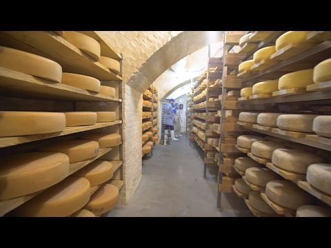 Hidden cheese cave in Brooklyn 🧀 | Curbed Makers