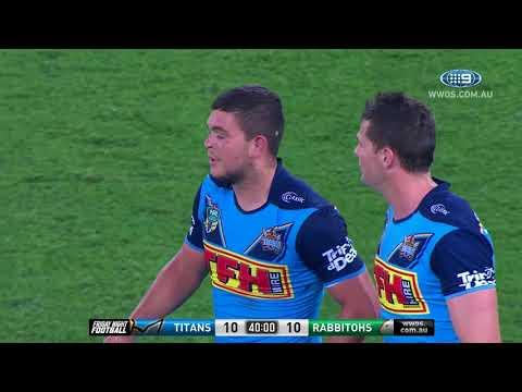 NRL Highlights: Gold Coast Titans v South Sydney Rabbitohs – Round 14