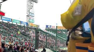 第91回選抜高校野球(山梨学院戦)