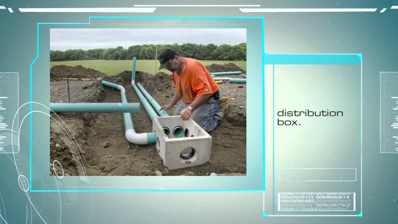 Septic tank distribution box for Septic tank distribution box location