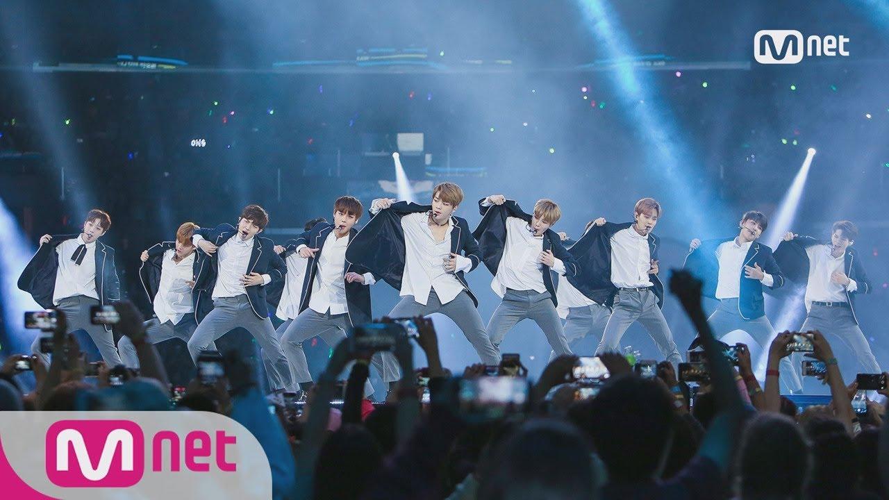 [KCON LA] PRODUCE 101 Special (Wanna One) - NEVER+PICK ME ㅣ KCON 2017 LA x M COUNTDOWN 170831 EP.539