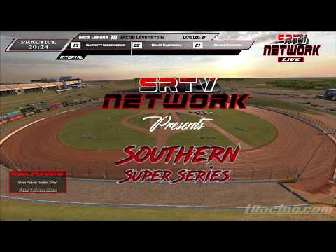 Southern Super Series Iracing League Race #6 @ The Dirt Track @ Charlotte 3-8-18