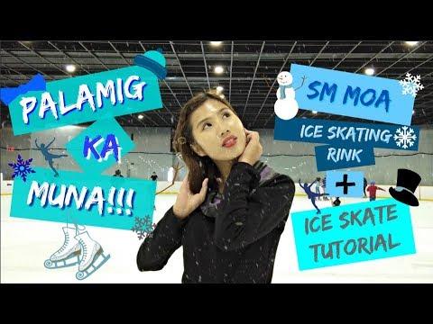 VLOG #02 | PALAMIG KA MUNA!! | SM MOA ICE SKATING RINK