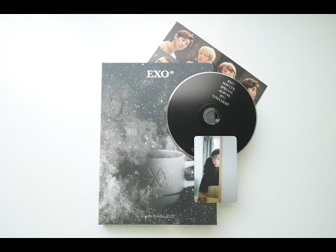 Unboxing EXO's 2017 Winter Special Album