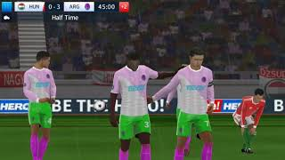 Hungary vs Argentina International Cup  Dream League Soccer 2018 Android Game play #113