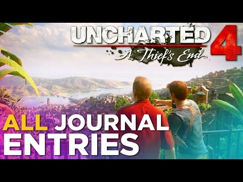 Uncharted 4: A Thief's End - ALL Journal Entries
