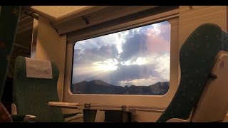 Barcelona to Valencia by Train -  First Class on an RENFE Talgo 250 [4K]