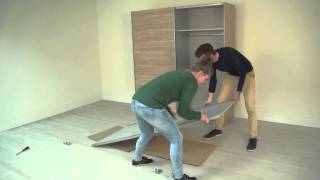 Repeat youtube video Instruction video Bergen sliding wardrobe