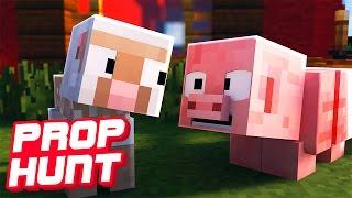 UNSERE NEUE FARM!!   Minecraft Prop Hunt
