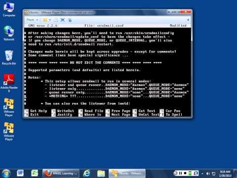Installing And Configuring Sendmail In Ubuntu Server 12.10