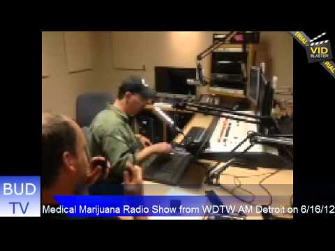 RadioWeedShow.com MMRS from WDTW AM Detroit on 6-16-12