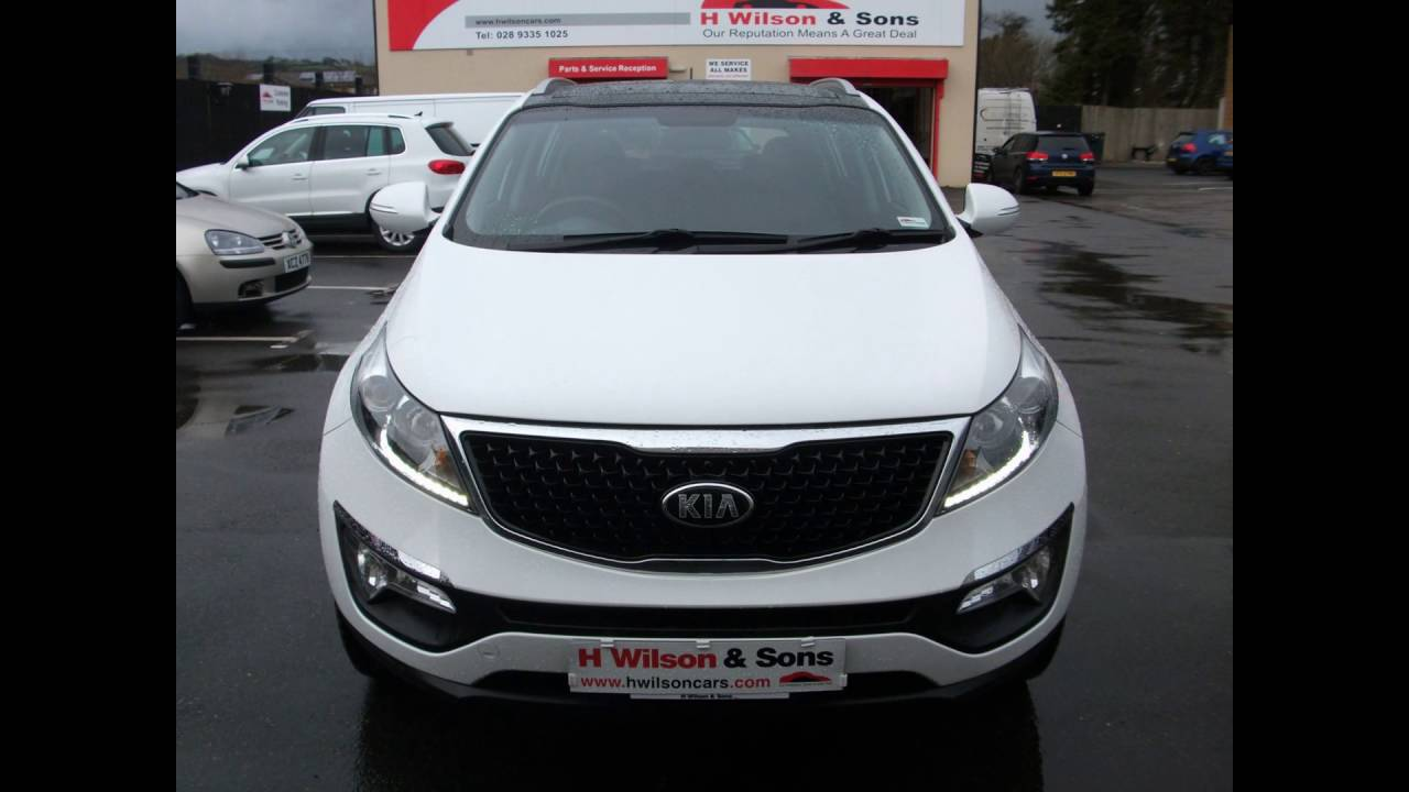 For Sale Kia Sportage 2 2015 Panoramic Roof White
