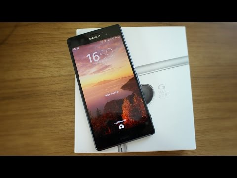 Sony Xperia Z3 unboxing and hands on