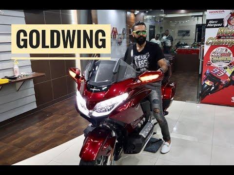 Happy's New Honda Goldwing