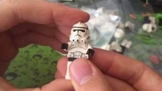 Посылка с Amazon! Из Америки! КУЧА раритетных Лего Клонов из Звездных Войн!