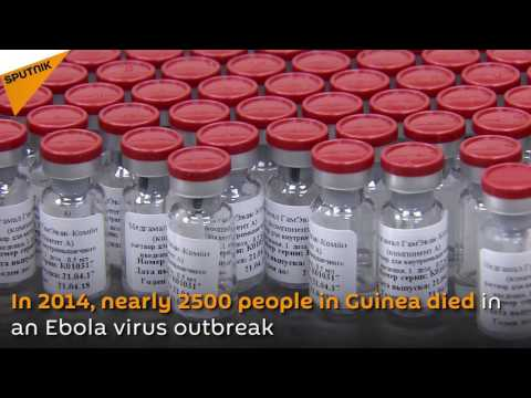 Russia's Ebola Vaccine Shipped To Guinea