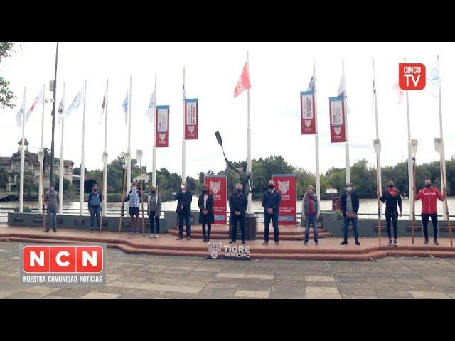 CINCO TV - El Municipio de Tigre conmemoró el Día Nacional del Remero
