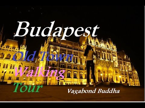 Budapest Hungary Free Walking Tour Video