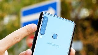 Обзор Samsung Galaxy A9 — четыре камеры!