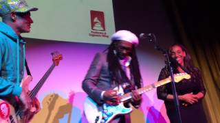 "Nile, Flea & Kathy Sledge Grammy Week Jam: ""We Are Family"""