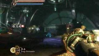 Bioshock- Final boss Fontaine (Take two with ending!) Normal Mode