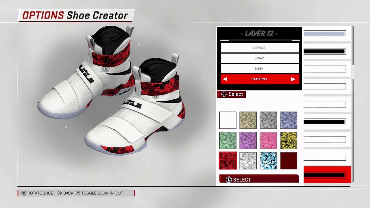NBA 2K18 Shoe Creator - Nike Soldier 10 PE