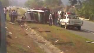 Accidente en la Autopista Duarte 2