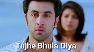 Tujhe Bhula Diya Lyrical HD Video / Ranbir Kapoor, Priyanka Chopra / Sad song