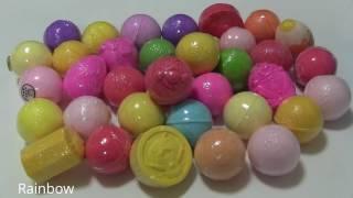 VN KIDS - Khám phá đồ chơi bất ngờ trong các quả bóng sủi bọt tuyết