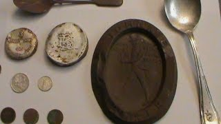 Metal Detecting a Historical steamship spoon