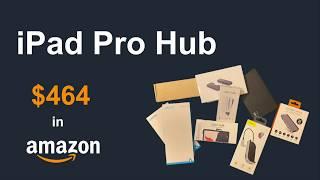 花$464买了十个USB-C拓展坞 - iPad Pro U…