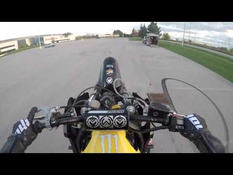 Crash CBR F4I Wheelie Fail