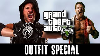 GTA 5 Online - Outfits (AJ Styles SPECIAL)
