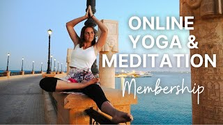 NEW Yoga and meditation program. Join us on PATREON!
