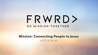 Pastor Mark Brown - Connecting People to Jesus
