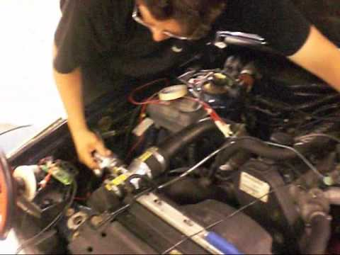 Mäter lambdasonden i bilen - YouTube