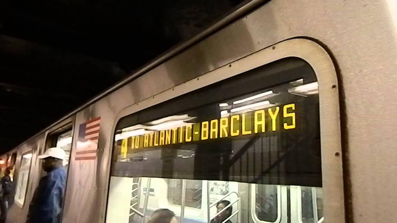 MTA New York City Subway Atlantic Avenue-Barclays Center Bound R142 Atlantic Avenue New York City on new york avenue monopoly, new york avenue cape may, new york avenue washington dc, boardwalk atlantic city,