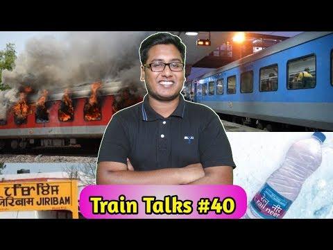 Train talks #40 AP Express Fire, Rail Bhawan, Mumbai Rajdhani Birthday