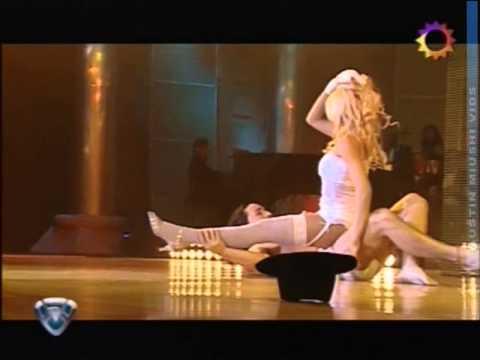 Nazarena Velez Strip Dance