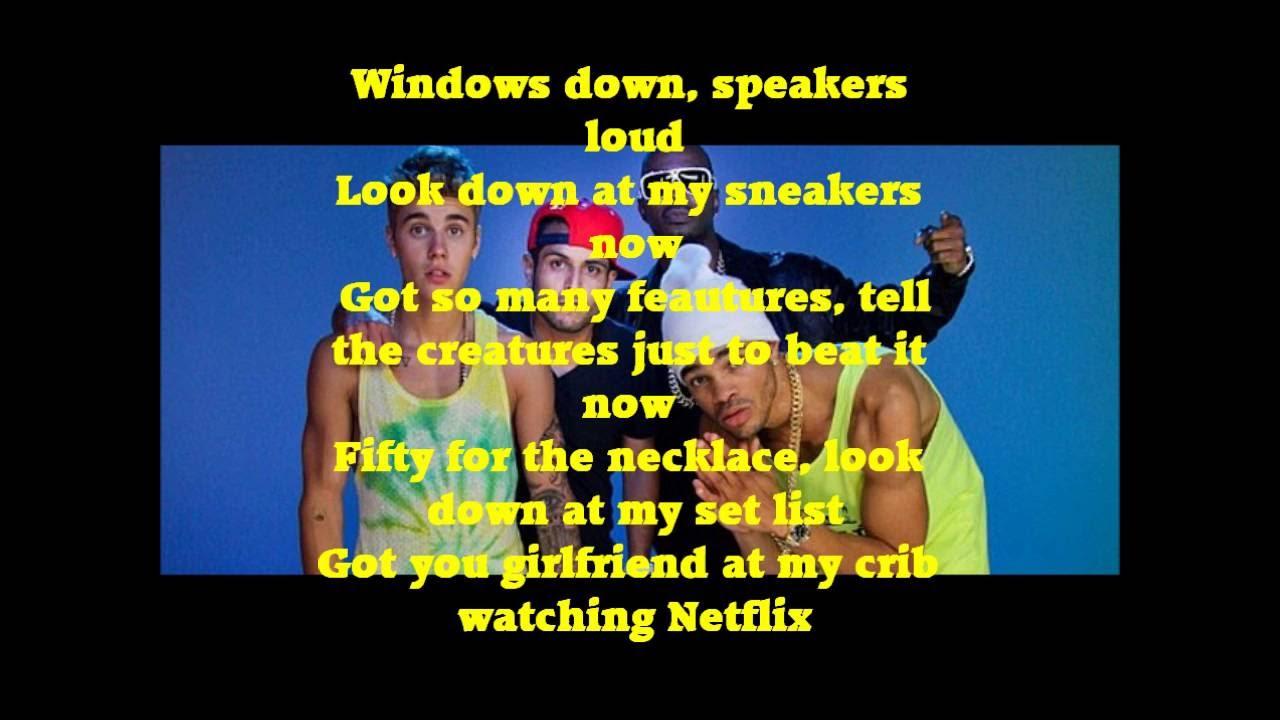 maejor ali - lolly ft. juicy j & justin bieber lyrics ...