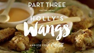 """Holly Robinson Peete's Chicken """"Wangs"""" Recipe (Coca-Cola Kitchen Table 3 of 4)"""